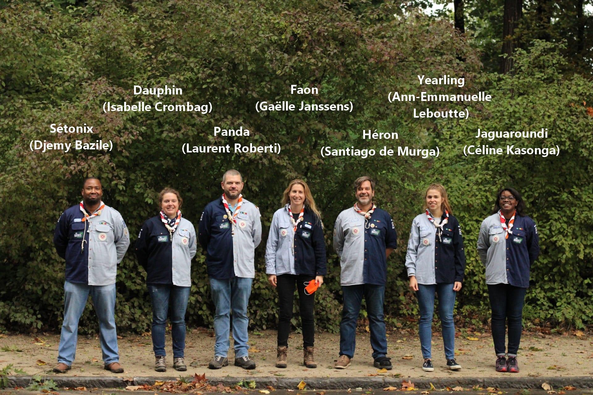 Staff d'Unité 29-33 Saint-Clément